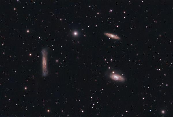 Leo Triplet - астрофотография