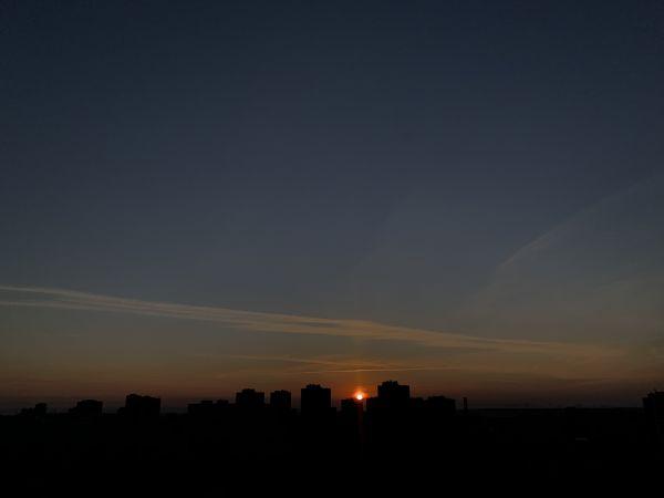 Sunrise  - астрофотография