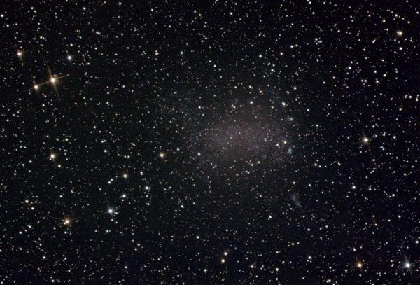 NGC 6822 Галактика Барнарда - астрофотография