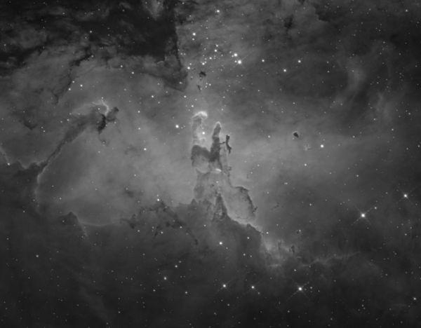 M 16, The Pillars of Creation - астрофотография