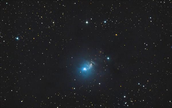 NGC1333 - астрофотография