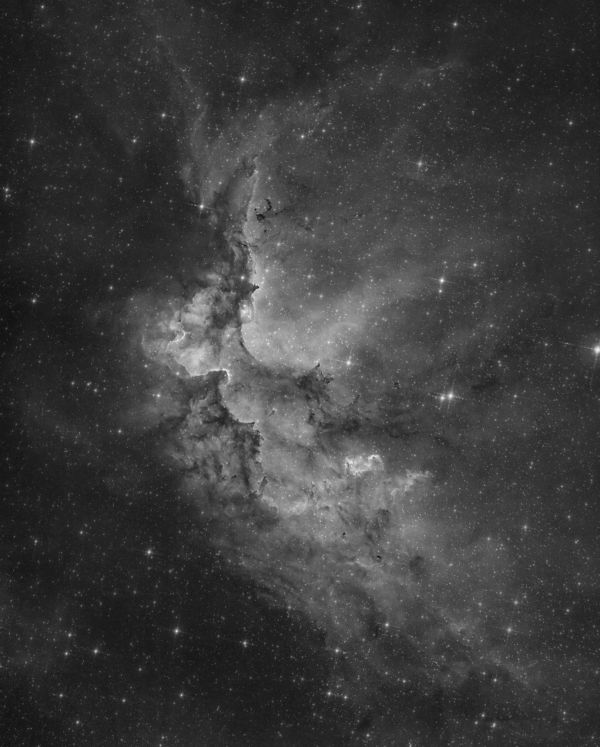 Wizard nebula - астрофотография
