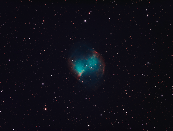 M27 (LRGB) - астрофотография