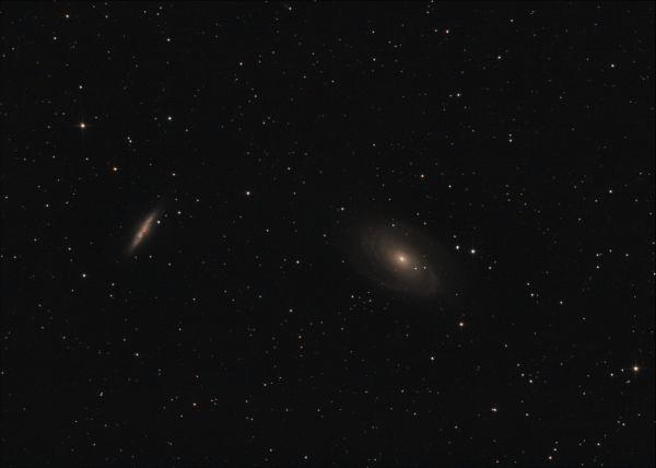 M81-M82 - астрофотография