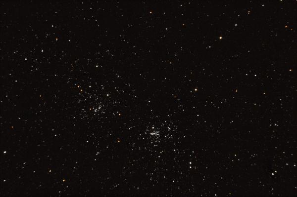 Хи и Аш Персея. 12.09.2020 - астрофотография