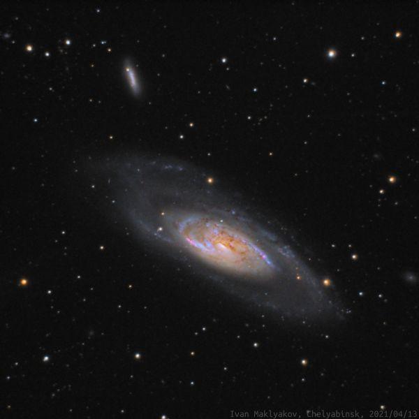 Галактика M106. - астрофотография