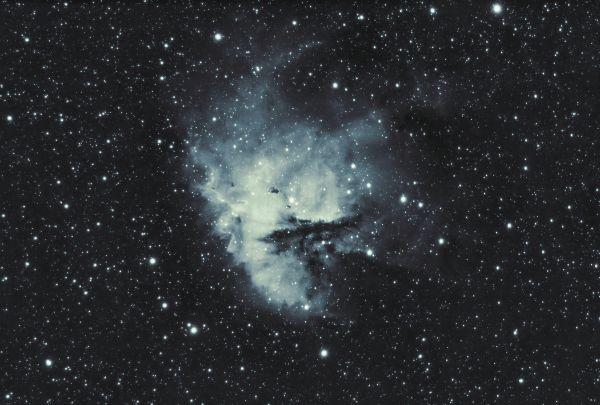Пакман в H-alpha - астрофотография