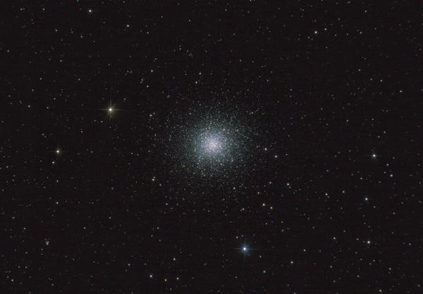 M13. Шаровое скопление в Геркулесе. - астрофотография