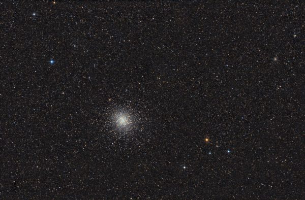 Globular clusters M22 & NGC6642 - астрофотография