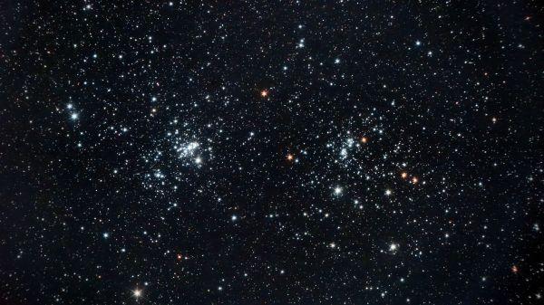 Двойное скопление в Персее - астрофотография