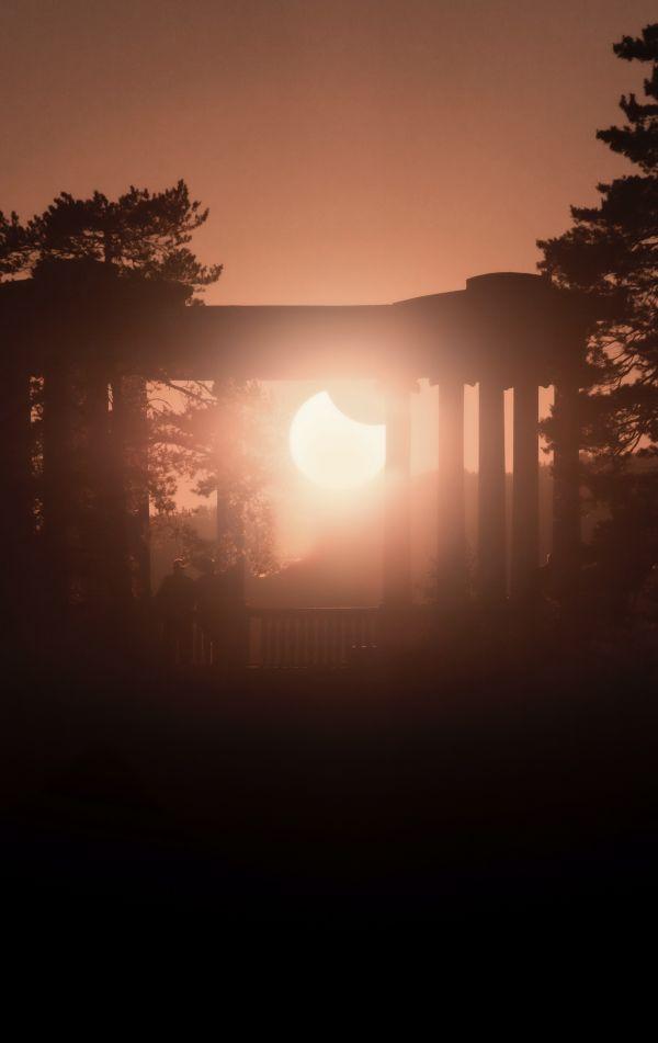 Солнечное затмение 2021 - астрофотография