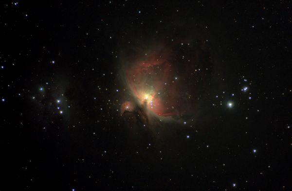 М42 (NGC1976) - Туманность Ориона - астрофотография