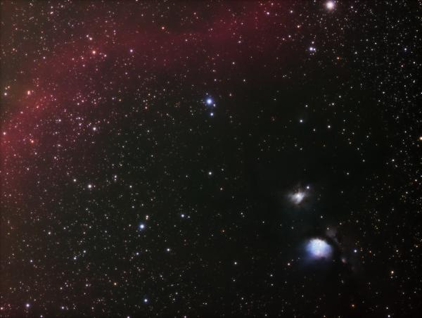 M 78 RGB - астрофотография