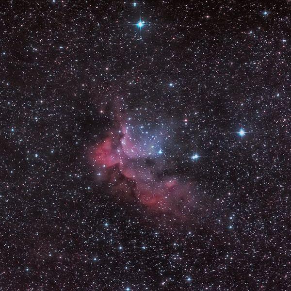 NGC 7380 - астрофотография