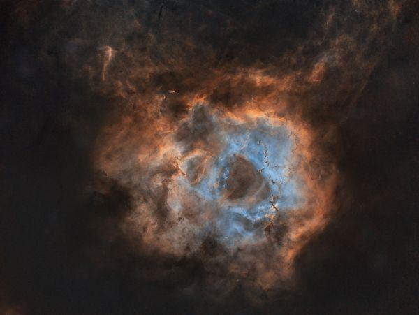 Розетка - астрофотография