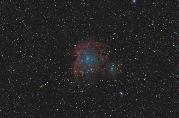 Monkey Head Nebula - NGC2174, NGC2175 - астрофотография