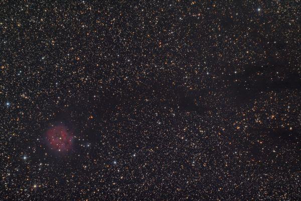 """IC 5146 (""""Туманность Кокон"""") - астрофотография"""