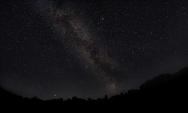 Осенний Млечный Путь - астрофотография