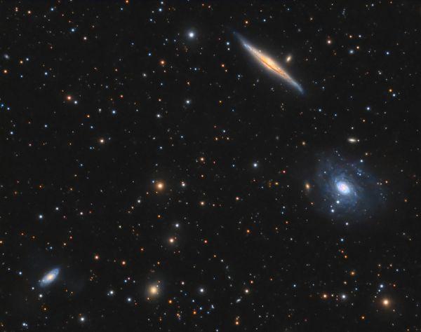 NGC 5965, NGC 5963 - астрофотография