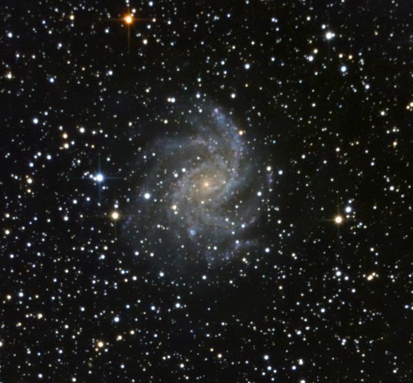 NGC 6946-Fireworks Galaxy - астрофотография