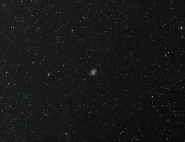 M 1 Crab planetary nebula HRGB - астрофотография