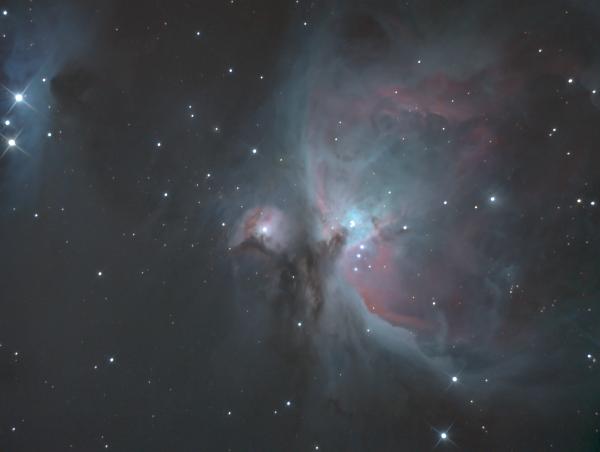 Большая туманность Ориона - М 42 (NGC 1976) - астрофотография