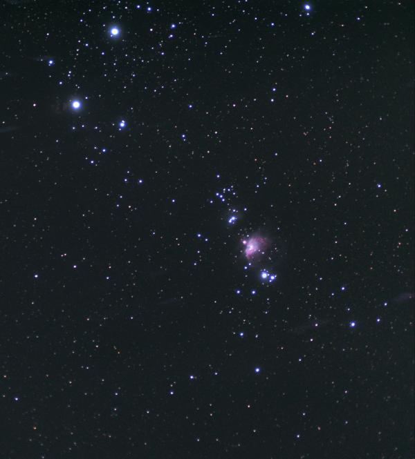 M42 и её окрестности - астрофотография