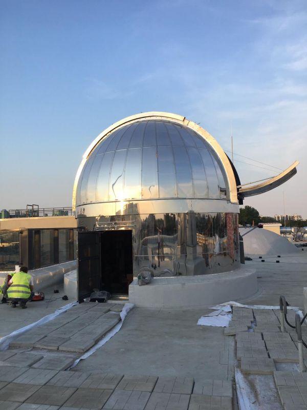 Новый купол - астрофотография