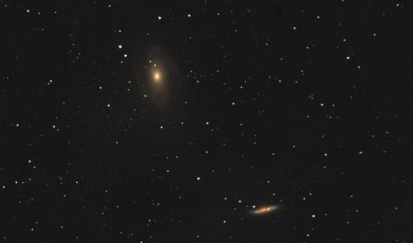M81, M82 Галактики Бодэ в созвездии Большой медведицы.. 10.05.2021 - астрофотография
