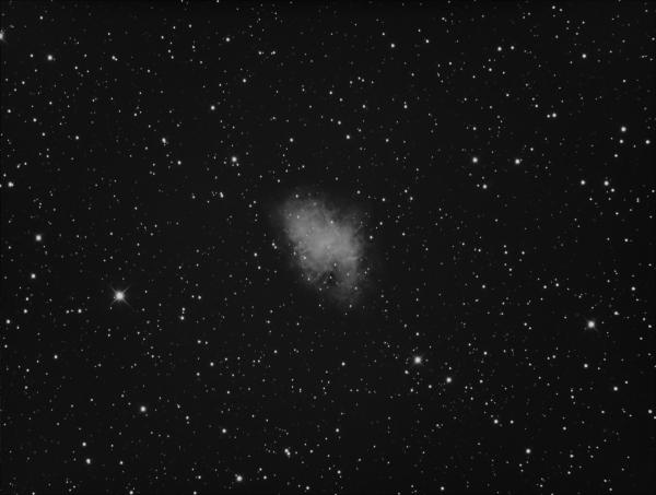M1 CRAB NEBULA (NO FILTERS) - астрофотография