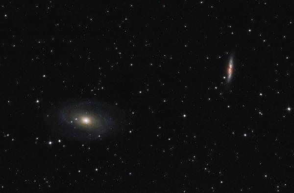 M81 M82 - астрофотография