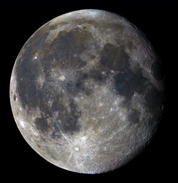 Минеральная Луна - астрофотография