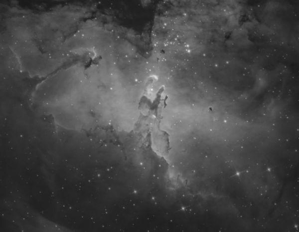 M16 nebula - астрофотография
