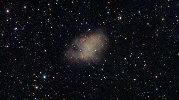 M1- Крабовидная туманность - астрофотография