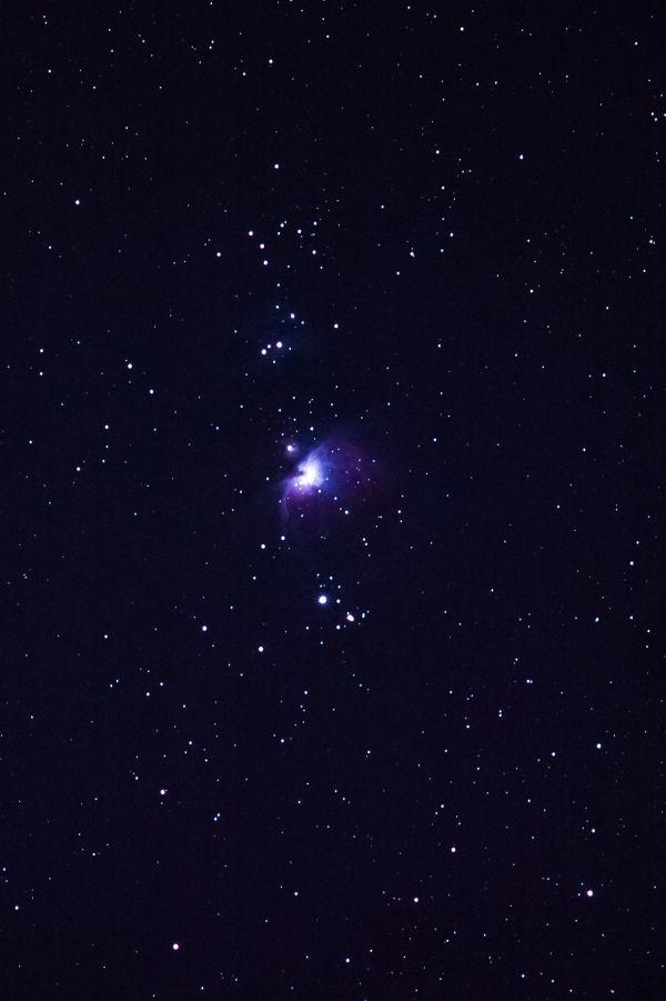 М42 Туманность Ориона - астрофотография