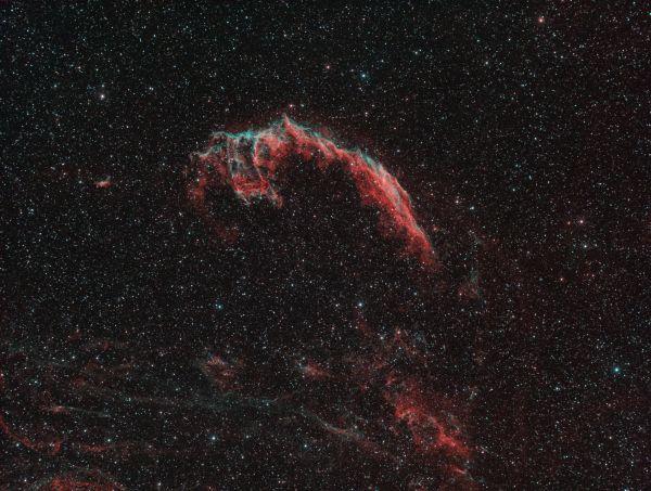 NGC6992 Туманность Рыбачья сеть - астрофотография