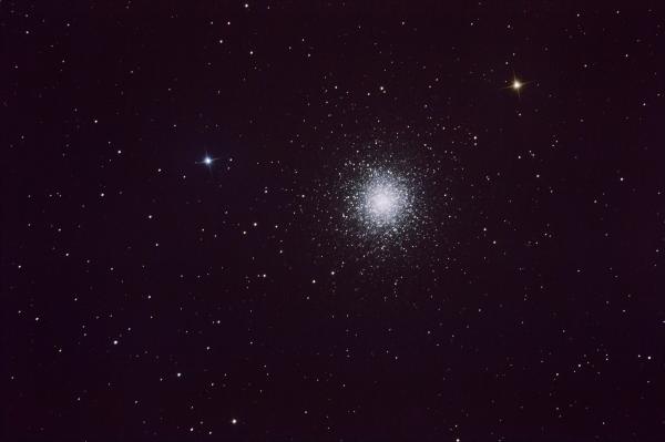 M13 - Hercules Cluster - астрофотография