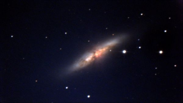 M82 - Сигара - астрофотография