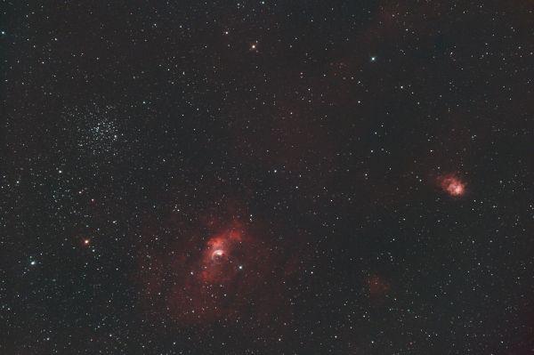 NGC 7635 - Bubble Nebula - астрофотография