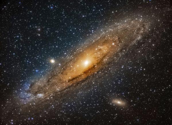 М 31 Новая версия - астрофотография