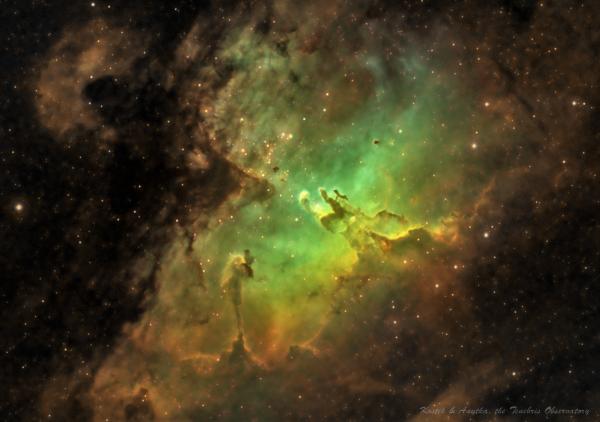 M16 - астрофотография