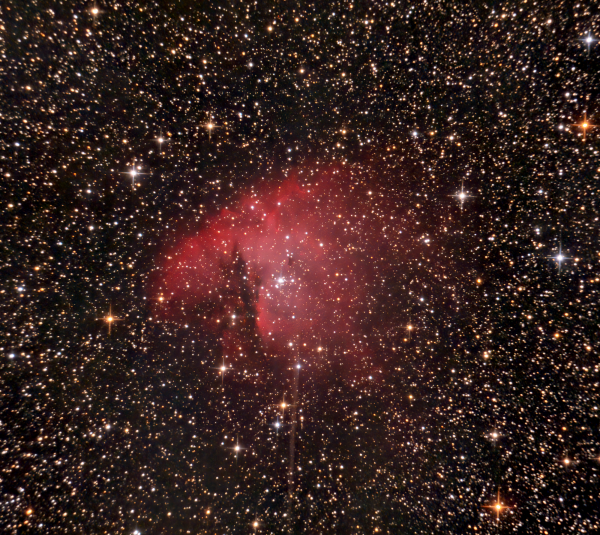 NGC 281 - Pak-Man - астрофотография