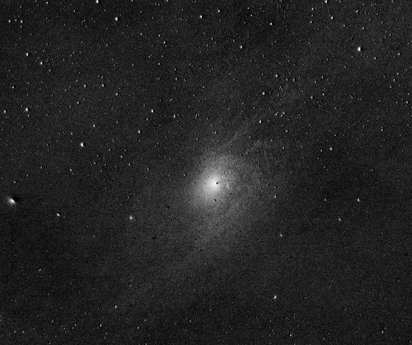 Ядро Галактики Андромеды, М31,  G - B - астрофотография