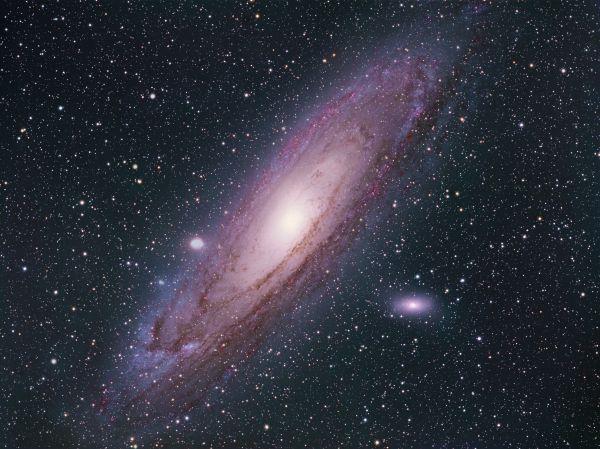 Туманность Андромеды - астрофотография