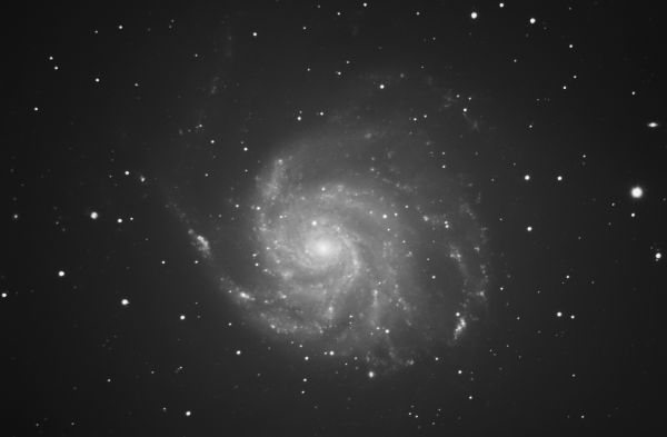 M 101 - астрофотография