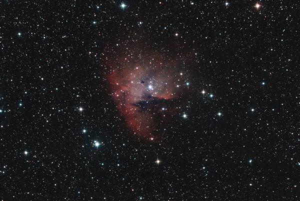 """Туманность NGC 281 """"""""Pacman"""" - астрофотография"""