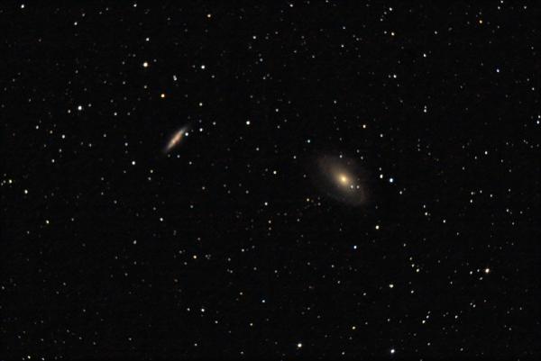 M81, M82 Галактики Бодэ в созвездии Большой медведицы.. 10.09.2020 - астрофотография
