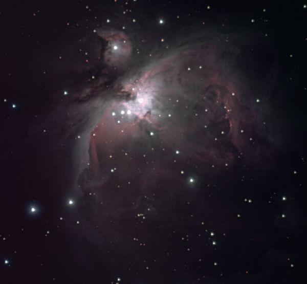 M42 Большая туманность Ориона - астрофотография