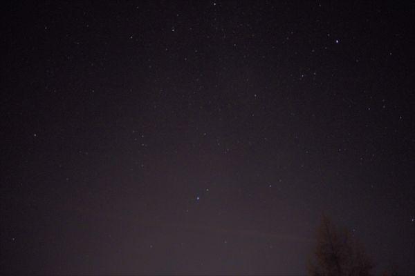 Milky Way and stars - астрофотография