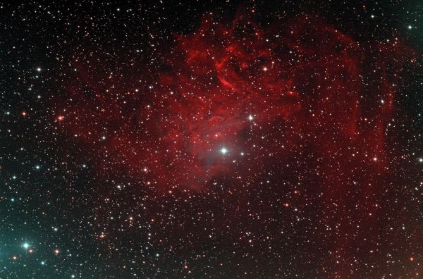 IC405 - астрофотография